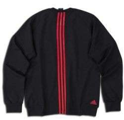 adidas AC Milan 2011 Soccer UEFA Champions League UCL Sweat Top Black