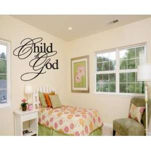 Child of God Child Teen Vinyl Wall Decal Mural Quotes