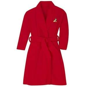 NEW Disney Princess Belle Red Fleece Girls Robe XXS 2/3