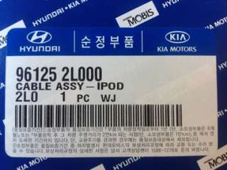 Kia FORTE KOUP] Factory OEM iPod Cable Aux USB