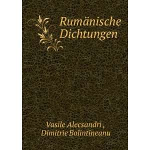 Dimitrie Bolintineanu Vasile Alecsandri   Books