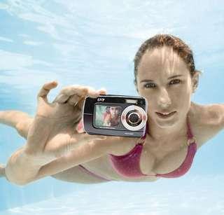 SVP 18MP Max. UnderWater Digital Camera + Video w/ Dual LCDs Screen