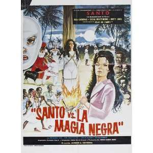 Santo vs. Black Magic Woman (1973) 27 x 40 Movie Poster