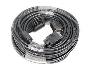 100 Feet XGA SVGA VGA 3x SHIELDED M/M LCD LED Monitor Cable 100FT Male