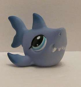 Littlest Pet Shop LPS Shark #2139 Great White New Loose Soooo Cute
