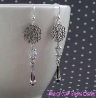 Swarovski Austrian Crystal Earrings 2207