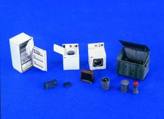 Verlinden 135 Home Goods Modern from 1950s Set I 2299