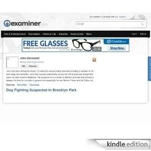 Brooklyn Park Dogs Examiner Kindle Store John Derossett