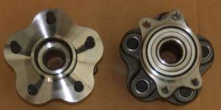240SX 5 Lug Wheel Hub Bearing Conversion Kit Rear Pair
