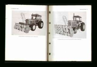 John Deere 280 Rotary Snow Plow Operators Manual CLEAN