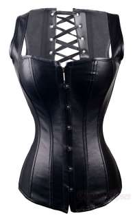 new gothic black pvc vinyl sz s 6xl corset dress with g