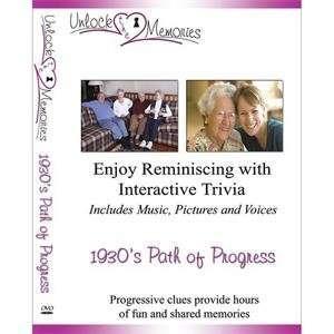 S&S Worldwide Unlock the Memories Dvd, 1930s Paths of
