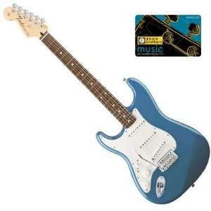 Fender® Standard Stratocaster®, Left Handed Electric Guitar
