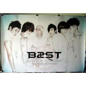 B2ST Beast is the B$ST POSTER 34 x 23.5 grainy Korean Boy