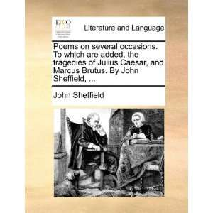 Brutus. By John Sheffield,  (9781170379011): John Sheffield: Books