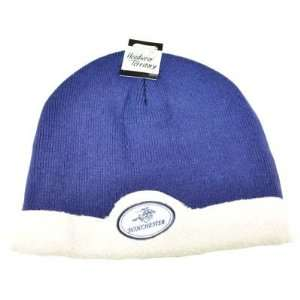 WINCHESTER AMMO HUNTING BEANIE KNIT TOQUE HAT CAP BLUE