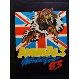 The Animals / Eric Burdon World Tour Program 1983 Animals Books