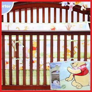 Winnie the Pooh Friends Baby Crib Bedding Comforter 4pc
