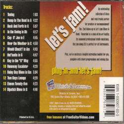 Lets Jam Blues & Rock Vol 3   Play Along CD by Jody Worrell