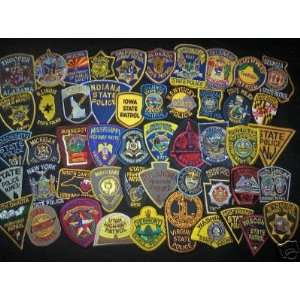 ALL 50 State Highway Patrol State Police Patches