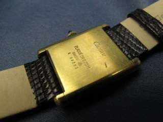 Ladys Vintage Cartier Tank Watch Gold Plated #145