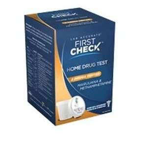 First Check HOME Drug Test  Marijuana & Methamphetamine