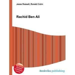Rachid Ben Ali Ronald Cohn Jesse Russell Books