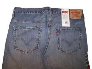 Levis 569 Mens Loose Straight Jeans LW 3440 NWT *