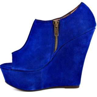 Womens Shoes NIB Steve Madden WHISTTLE Platform Peeptoe Wedge Pump