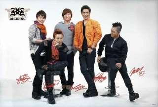 BigBang Boy Band Korean Big Bang Poster 90x60 cm 6333M