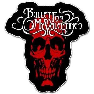Bullet for My Valentine Skull Heavy Metal Music Car Bumper
