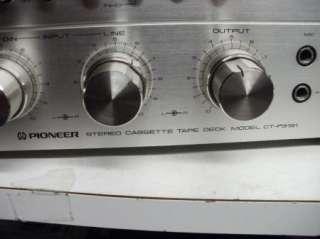 Vintage Pioneer CT F9191 High End Cassette Deck Recorder Player