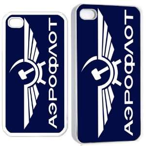 aeroflot soviet airlines iPhone Hard Case 4s White Cell