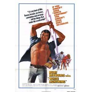 White Lightning Movie Poster (27 x 40 Inches   69cm x