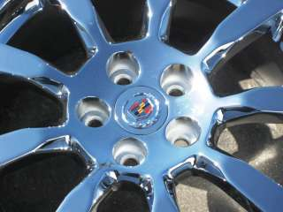 18 FACTORY CADILLAC GM CTS CHROME WHEEL RIM 2008 11   1 SINGLE