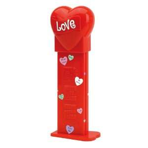 Giant PEZ Valentine Recordable Love Heart Candy Dispensers, 1 Count