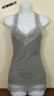 NWT Hollister Women Lace Cami Tank Top ~ Breakwall ~ Size M