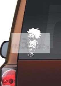 KAKASHI   NARUTO CHIBI SET 1 car window sticker decal