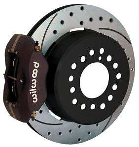 WILWOOD DISC BRAKE KIT,REAR,CHEVY C 10 C 15 TRUCK,BLK,D