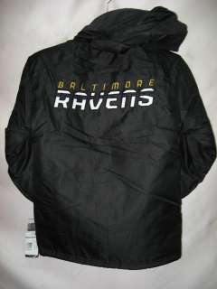 Baltimore Ravens NFL Youth Heavy Weight Full Fleece Hoody Jacket