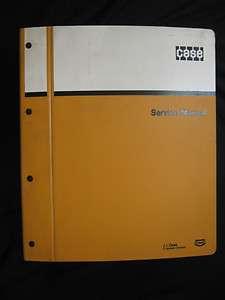 Case 580B Tractor/Loader/Backhoe Service Manual