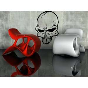Cool Human Skull Scary Decor Wall Mural Vinyl Decal