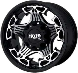 17 inch Moto Metal MO909 SKULL wheels rims 5x5 5x127
