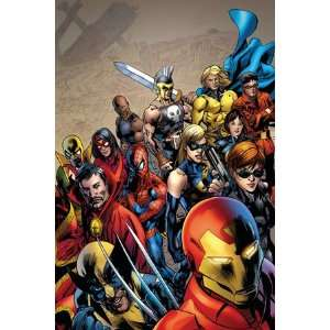 Size Avengers #1 Cover Iron Man by Bryan Hitch, 48x72