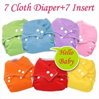 One Size Fit All Reusable Baby Pocket CLOTH DIAPER