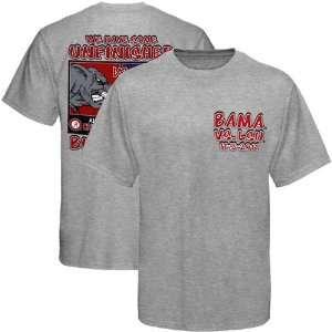 Alabama Crimson Tide vs. LSU Tigers 2011 Unfinished Business T Shirt