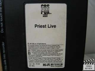 Judas PriestLive VHS Concert Video |