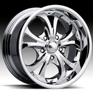 20 inch Boss 304 chrome wheels rims 6x5.5 6x139.7 +10