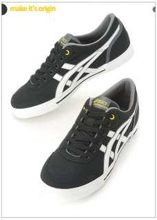 Brand New ASICS AARON PLUS CV Shoes Black, White H108N 9001 #39