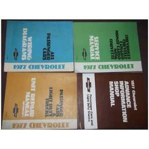 1977 Chevrolet CHEVY NOVA Service Repair Shop Manual Set